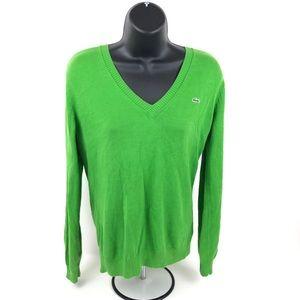 Lacoste Women's Sweater  V Neck
